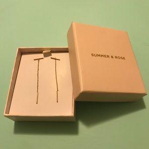 Summer & Rose Bar Earrings